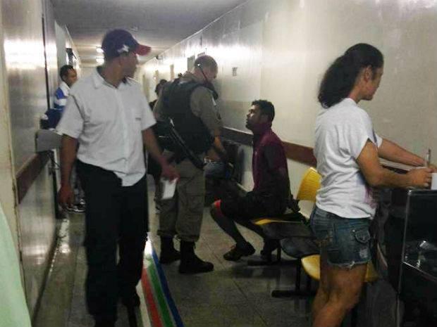 Paciente agride funcionários de UAI em Uberlândia  (Foto: G1)