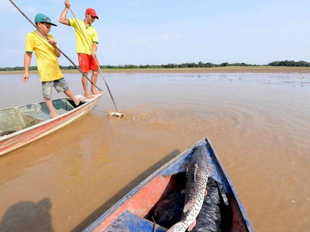 Problema afeta ao menos sete localidades em Manaquiri (Foto: Chico Batata/Arquivo Pessoal)