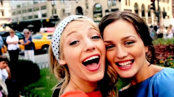 Blair e Serena (Foto: Reprodução)