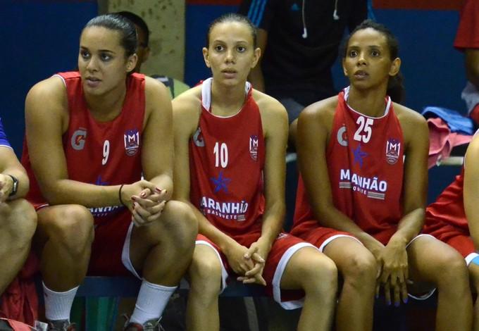 Maria Cláudia, Rayana e Dalila são maranhense e defendem o MB (Foto: Biaman Prado)