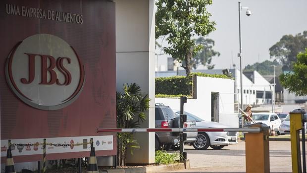 Sede da JBS em São Paulo (SP) (Foto: CHELLO/FRAMEPHOTO / Ag. O Globo)