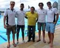 Polo aquático do Botafogo 'imita' o futebol e cria tradição com gringos