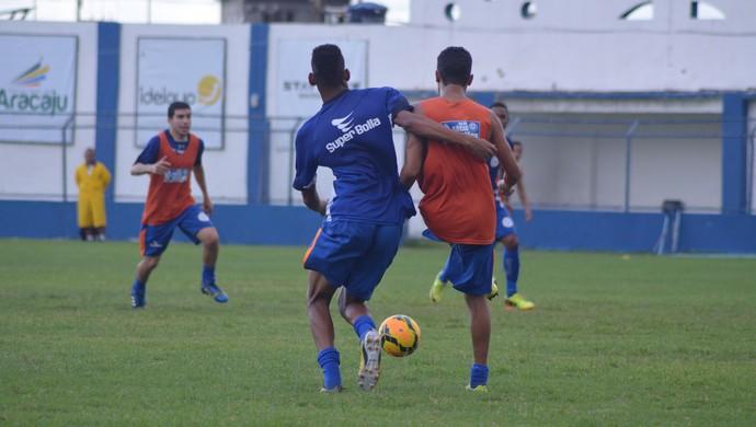 9e020ecbb4 Confiança deve repetir escalação contra o Jacuipense (Foto  Felipe  Martins GloboEsporte.com
