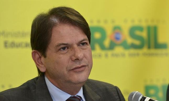 Cid Gomes, ministro da Educação (Foto: Wilson Dias / Agência Brasil)