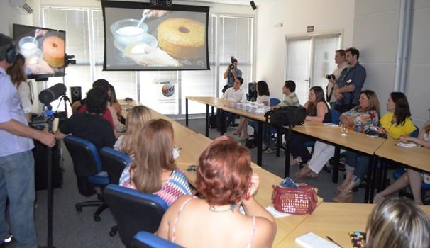 Prévia do + Caminhos foi exibida em evento nesta terça-feira (14) (Foto: Bruno Teixeira / EPTV)