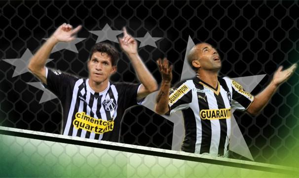 Um confronto de estrelas pelas oitavas de final da Copa do Brasil. (Foto: Johann Bezerra/TV Verdes Mares)