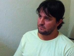 Francisco Wenderson dos Santos admitiu relacionamento virtual, mas nega ter extorquido dinheiro da empresária (Foto: Igor Jácome/G1)