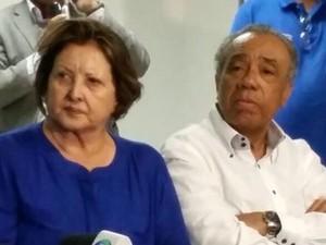 Maria do Carmo, do DEM, é reeleita senadora por Sergipe (Foto: Kedma Ferr/TV Sergipe)