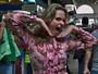 Ex-BBB Ana Paula foi às ruas saber como identificar uma falsiane