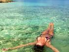 Luize Altenhofen relembra viagem no Caribe: 'Viagem inesquecível'