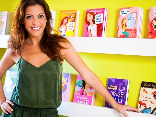 A escritora Thalita Rebouças, uma das autoras de maior sucesso atualmente entre o público juvenil, vai participar de um bate-papo com os leitores (Foto: Bárbara Raso/Divulgação)