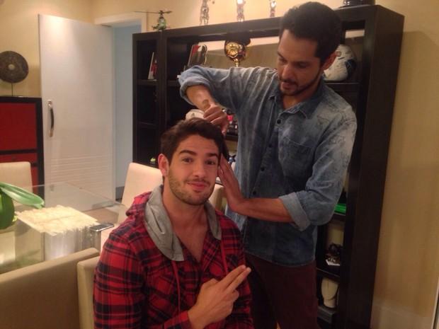Alexandre Pato e Renner de Souza  (Foto: Reprodução do Instagram)