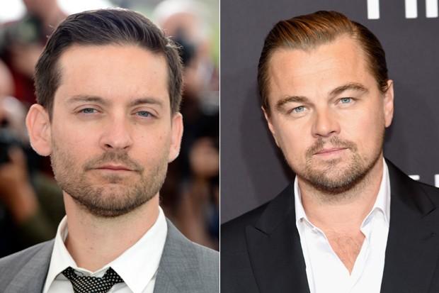 Tobet Maguire e Leonardo DiCaprio (Foto: Getty Images)