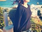 Sophia Abrahão curte viagem à Grécia com Fiuk