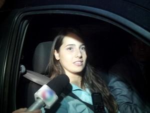 Mirella Granconato é acusada na morte da universitária Giovanna Tenório. (Foto: Arquivo/Gazetaweb)