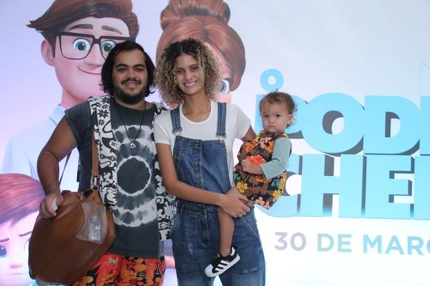 Franscisco, Laura Francisco e Flor de Maria (Foto: Wallace Barbosa/AgNews)