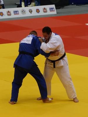 Rafael Silva x Marius Paskevicius, Mundial de Judô (Foto: Raphael Andriolo)