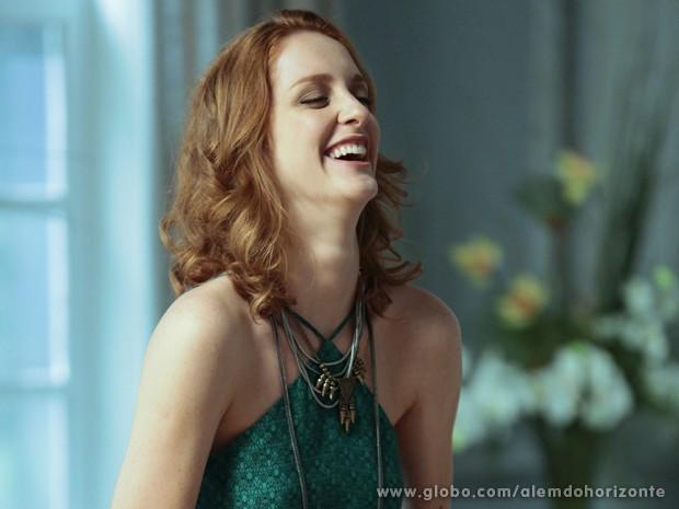 Laila garante que sua personagem terá muito humor (Foto: Felipe Monteiro/TV Globo)