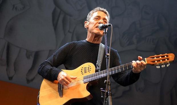 Chico Buarque em show no Rio de Janeiro (Foto: Alexandre Durão/G1)