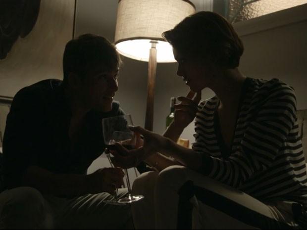 Bruno Gagliasso será Murilo, e Sophie Charlotte viverá Alice (Foto: TV Globo)