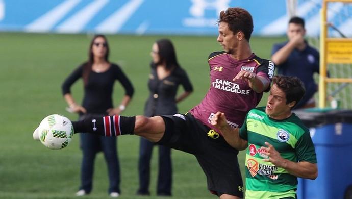 Rodrigo Caio São Paulo x Boca Raton (Foto: Rubens Chiri / saopaulofc.net)