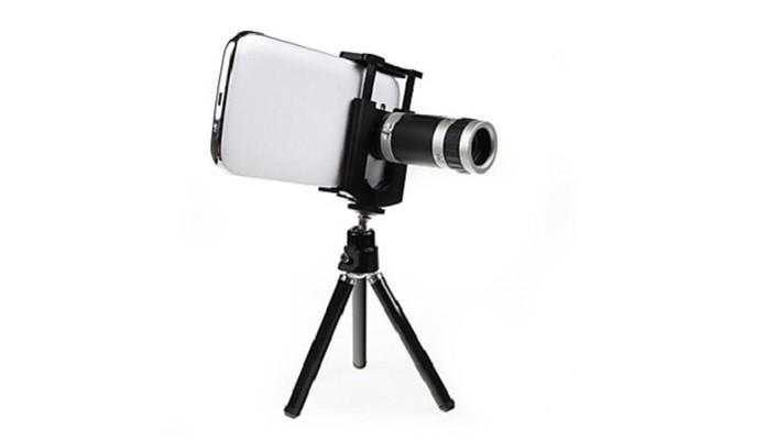 A lente para foco em longas distâncias é compatível com diversos smartphones (Foto: Divulgação/MiniInTheBox) (Foto: A lente para foco em longas distâncias é compatível com diversos smartphones (Foto: Divulgação/MiniInTheBox))