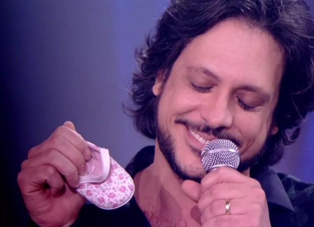 Lucio Mauro Filho anuncia que será pai pela terceira vez (Foto: Reprodução)