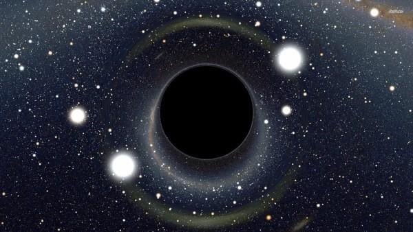 Buracos negros nada mais são do que restos mortais de estrelas gigantes (Foto: Nasa)