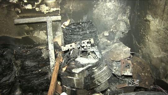 Delegacia é incendiada e câmara de vereadores destruída no Maranhão