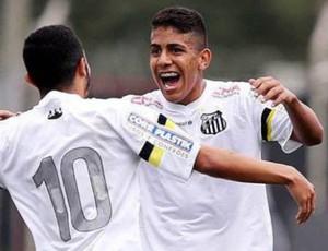 Santos sub-17  (Foto: Pedro Ernesto Guerra Azevedo / Divulgação Santos FC)