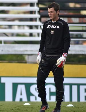 Goleiro Renan Bragantino (Foto: Filipe Rodrigues)