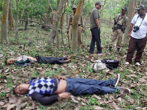Caçadores foram mortos em confronto (Foto: Reuters)