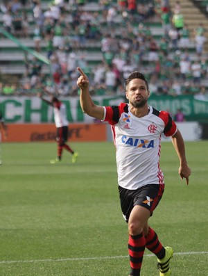 Chapecoense x Flamengo Diego gol (Foto: Futura Press)
