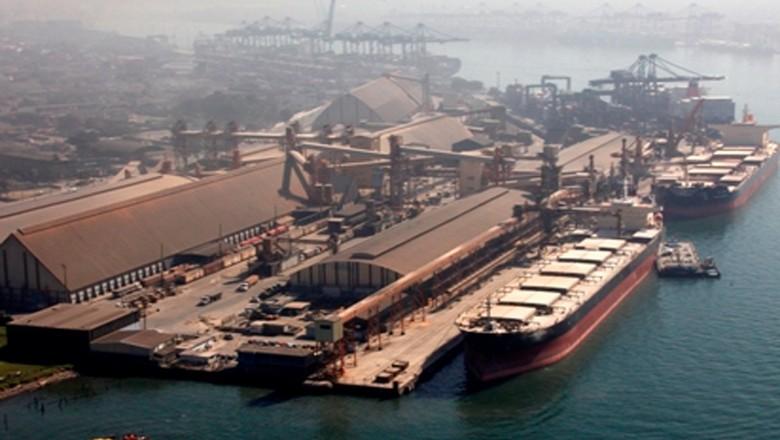 logistica-porto-santos-movimento (Foto: Divulgação/Codesp)