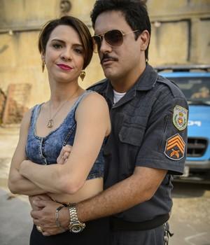 Josy e Bigode (Foto: Alex Carvalho / TV Globo)