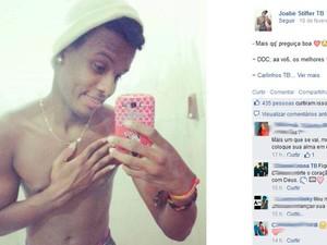 Joabe foi morto a tiros perto de escola em Salvador (Foto: Reprodução/Facebook)