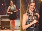 Luxo asiático! Fernanda Lima usa vestido bordado com fios dourados