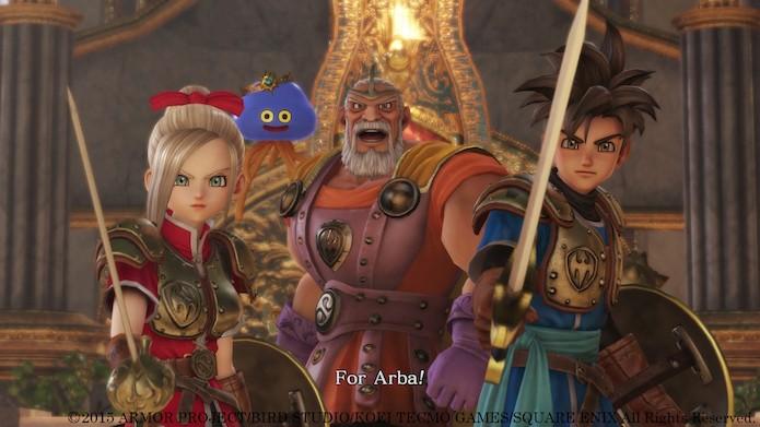 Dragon Quest Heroes traz personagens inéditos e heróis clássicos (Foto: Divulgação/Square Enix)