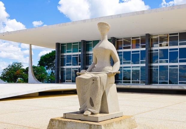 Sede do Supremo Tribunal Federal (STF) em Brasília (Foto: Antonio Cruz/Agência Brasil)