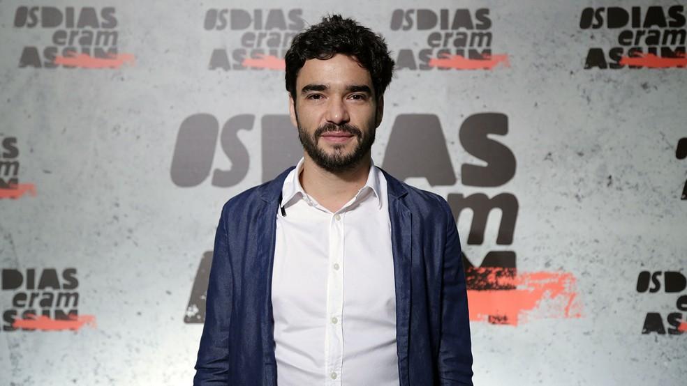 Caio Blat encarna Túlio (Foto: Raphael Dias/Gshow)