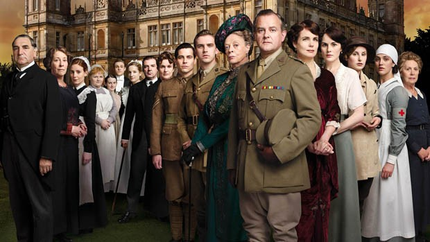 [620] Downton Abbey elenco (Foto: Divulgao)