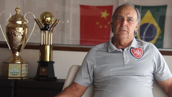 Adailton Ladeira, técnico do Desportivo Brasil (Foto: Raphael Zilli/ Desportivo Brasil)