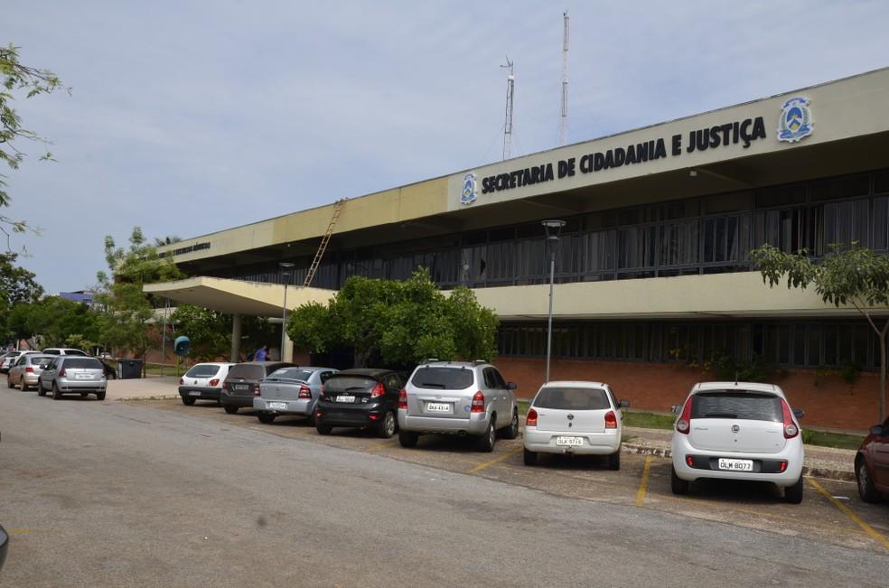 Concurso para o sistema penitenciário começou ainda em 2014 (Foto: Governo do Estado/Divulgação)