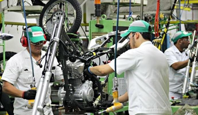 Fábrica da Honda em Manaus