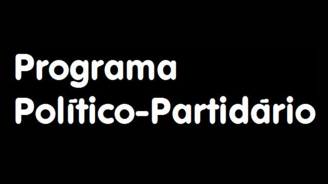 Programa Político-Partidário (Foto: TV Globo)