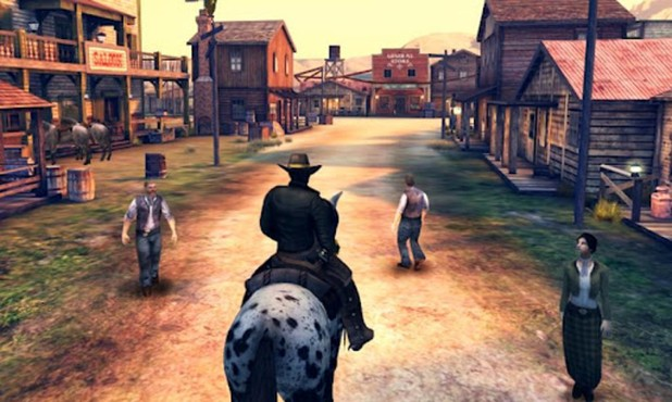 screenshot de Six-Guns