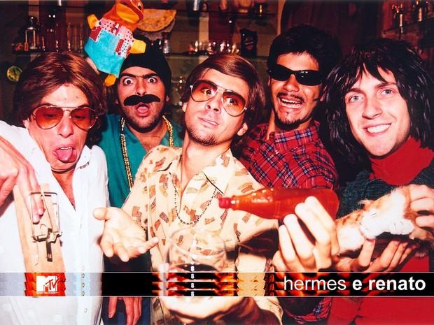 Hermes e Renato (Foto: Divulgação / MTV)