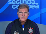 """Oswaldo destaca postura do Timão contra o Inter: """"A equipe se saiu bem"""""""