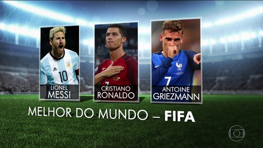 Fifa anuncia finalistas da premiação dos melhores da temporada