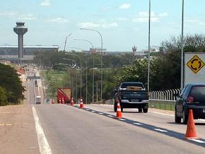 Acesso para o Aeroporto de Viracopos é aberto nesta sexta-feira  (Foto: Reprodução EPTV)